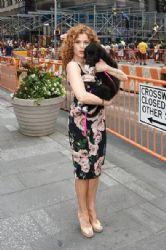 Bernadette Peters wears Dolce & Gabanna - The NASDAQ Closing Bell