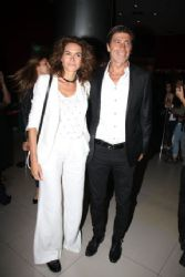 Nico Repetto and Flor Raggi: movie avant premiere