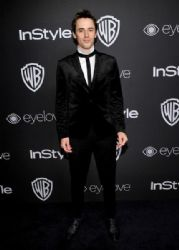 Reeve Carney: The 2017 InStyle and Warner Bros. 73rd Annual Golden Globe Awards Post-Party - Red Carpet