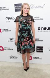 Leven Rambin: Elton John AIDS Foundation Oscars 2015 Viewing Party