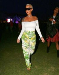 Amber Rose Coachella Music Festival Day 1 In Indio
