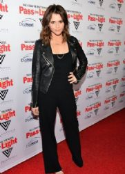 Alexandra Chando: at the premiere of his movie Pass The Light held at ArcLight Cinemas