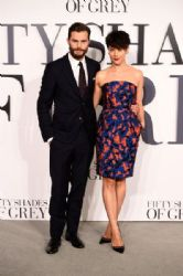 Jamie Dornan and Amelia Warner: Fifty Shades Of Grey UK Premiere