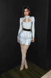 Kylie Jenner attends the Balmain and Olivier Rousteing after the Met Gala Celebration  in New York, New York