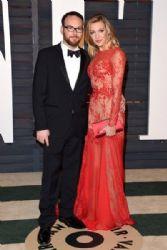 Katie Cassidy and Dana Brunetti: 2015 Vanity Fair Oscar Party