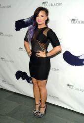 Demi Lovato wears Brian Lichtenberg - Logo TV's 1st Annual Trailblazers