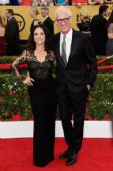 Julia Louis-Dreyfus and Brad Hall: 21st Annual Screen Actors Guild Awards - Arrivals