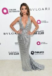 Sarah Hyland: 24th Annual Elton John AIDS Foundation's Oscar Viewing Party - Red Carpet