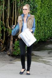 Monet Mazur  in West Hollywood to Kings Road Newsstand