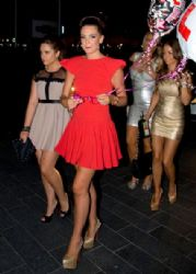 Danielle Lloyd: out at Playground nightclub in Liverpool