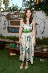 Jessica Biel: Amazon Video's Tumble Leaf Family Fun Day Hosted by Au Fudge