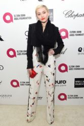 Miley Cyrus: Elton John AIDS Foundation Oscars 2015 Viewing Party