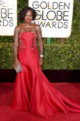 Viola Davis: 72nd Annual Golden Globe Awards 2015- Arrivals