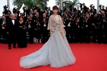 Fan Bingbing wears Marchesa - Cannes Film Festival Premiere