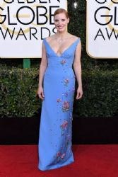 Jessica Chastain: 74th Annual Golden Globe Awards - Arrivals
