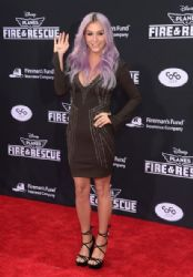 Kesha wears Amen - 'Planes:  Fire & Rescue' LA Premiere