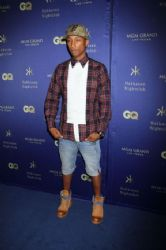 Pharrell Williams: grand opening of Hakkasan Las Vegas Restaurant & Nightclub