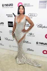 Toni Braxton : Elton John AIDS Foundation Oscars 2015 Viewing Party