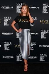 Jesinta Campbell: Vogue Fashion's Night Out - Sydney