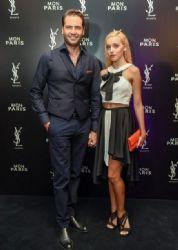 Panagiotis Bougiouris and Klelia Menelaou: «Mon Paris» by YSL BEAUTE perfume presentation