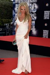 Pamela Anderson: Arrivals at the World Music Awards