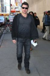 Nick Lachey spotted out and about in New York City, New York