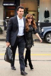 Paula Abdul: shopping on Melrose in Los Angeles