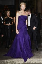Princess Charlene Of Monaco wears Ralph Lauren - Ralph Lauren Collection Show