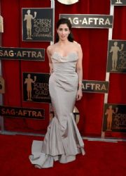 Sarah Silverman: 22nd Annual Screen Actors Guild Awards - Red Carpet