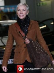 Annie Lennox At The Itv Studios