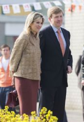 Dutch Royal Family Attends King's Games