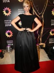 Griselda Siciliani: Martin Fierro Awards 2014