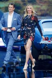 "Cameron Diaz – German TV-Show ""Wetten, dass..?"" in Offenburg"