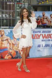 Priyanka Chopra in Marc Jacobs dress : 'Baywatch' Berlin Premiere