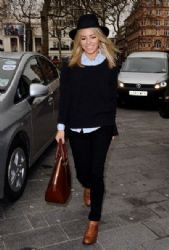 Mollie King: at Capital FM in London