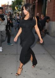 Kim Kardashian heads out in New York City on May 16, 2016