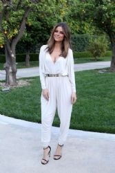 Maria Menounos Arrives at 'Jimmy Kimmel Live'