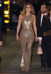Jennifer Lopez is seen at 'Jimmy Kimmel Live' on January 4, 2016