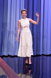 Scarlett Johansson Visits 'The Tonight Show Starring Jimmy Fallon'