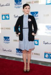Ginnifer Goodwin: arrives at the 4th Annual Milk+Bookies Story Time Celebration at Skirball Cultural Center