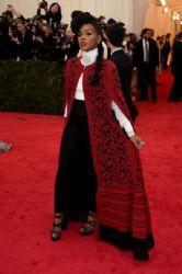 Janelle Monáe: Red Carpet Arrivals at the Met Gala 2014