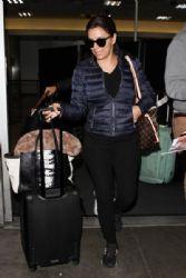 Eva Longoria Is Seen at LAX