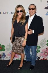 Thalia and Tommy Mottola: Tommy Hilfiger Women's - Backstage - Spring 2016 New York Fashion Week: The Shows
