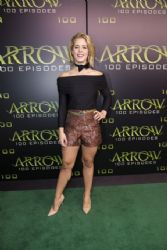 Emily Bett Rickards: Celebration of 100th Episode of Arrow in Vancouver