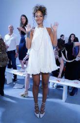 Rhianna:Adam Selman - Presentation - Mercedes-Benz Fashion Week Spring 2015