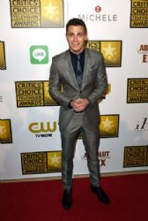 Colton Haynes: Arrivals at the Critics' Choice Television Awards