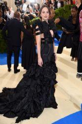Dakota Johnson  in Gucci Dress :  2017 Met Gala