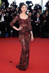 Bianca Balti wears Dolce & Gabbana - 'La Venus A La Fourrure' 2013 Cannes Film Festival Premiere