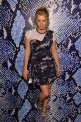 Levin Rambin wears Diane Von Furstenberg - Journey of a dress Exibition in Los Angeles