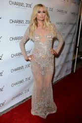 Paris Hilton at the Charbel Zoe Melrose Store Opening